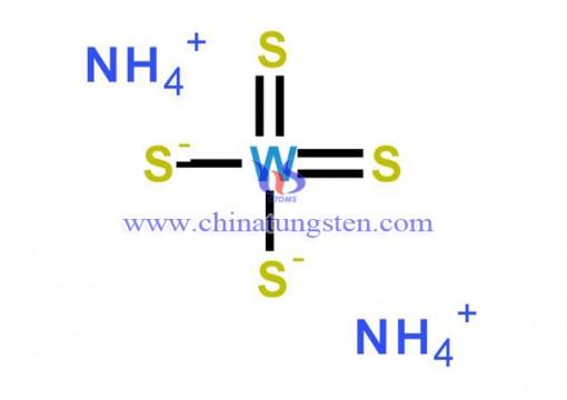 四硫代钨酸铵分子式-0001